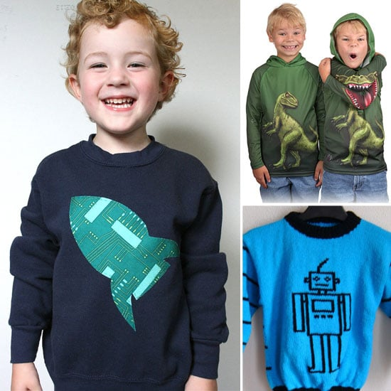 Kids Dinosaur and Space Sweater