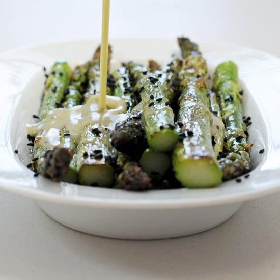 Asparagus With Sesame-Wasabi Dressing