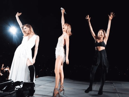 Taylor Swift Brings Transgender Supermodel Andreja Pejić On Stage At Chicago Tour Stop