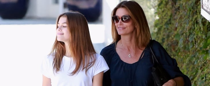 Cindy Crawford Makes a Sephora Stop With Her Stunning Look-Alike Daughter, Kaia Gerber
