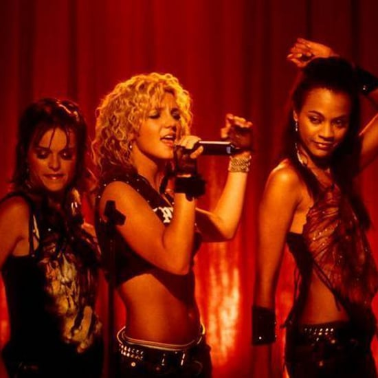 Britney Spears and Zoe Saldana in Crossroads
