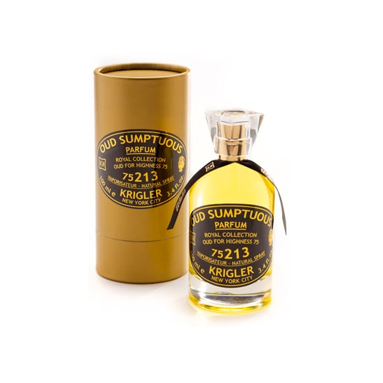 If you couldn't quite schedule that exotic European tour this holiday season, gift Krigler Oud Sumptuous 75213 ($305) instead. Tinged with amber and cinnamon, the scent exudes the warmth of sitting by the fire.