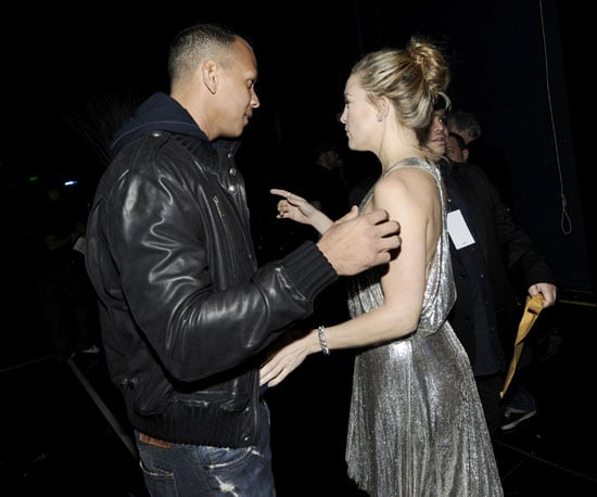 Photo Slide of Alex Rodriguez And Kate Hudson at The American Music Awards