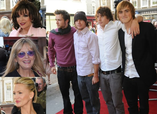 McFly, Joan Collins, Natasha Henstridge And Twiggy Show Up To See Darius Danesh As Rhett Butler In Gone With The Wind