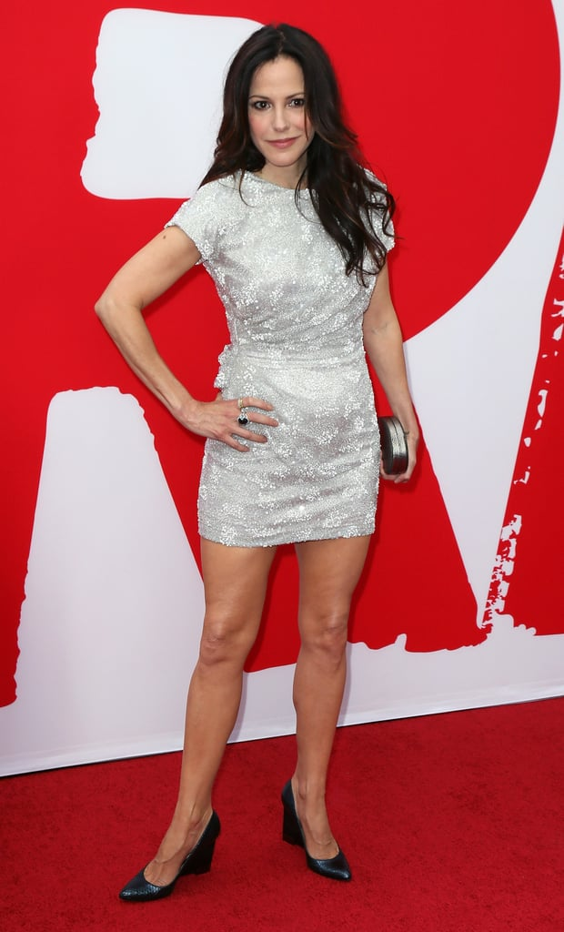 Mary-Louise Parker showed off her legs.
