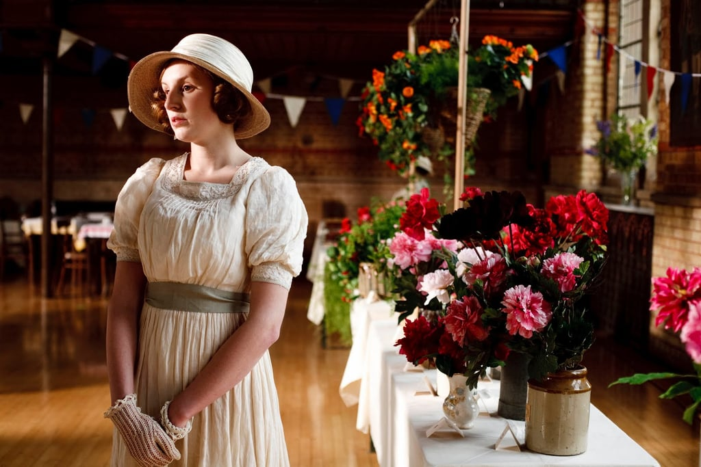 The lack of contemporary deodorants isn't to say that people smelled awful, though. Upper-class women like Edith might bathe every day — after, of course, a servant ran the bath for them. Some soaps, such as Yardley, that the Downton Abbey characters might have used are still around today. Source: ITV