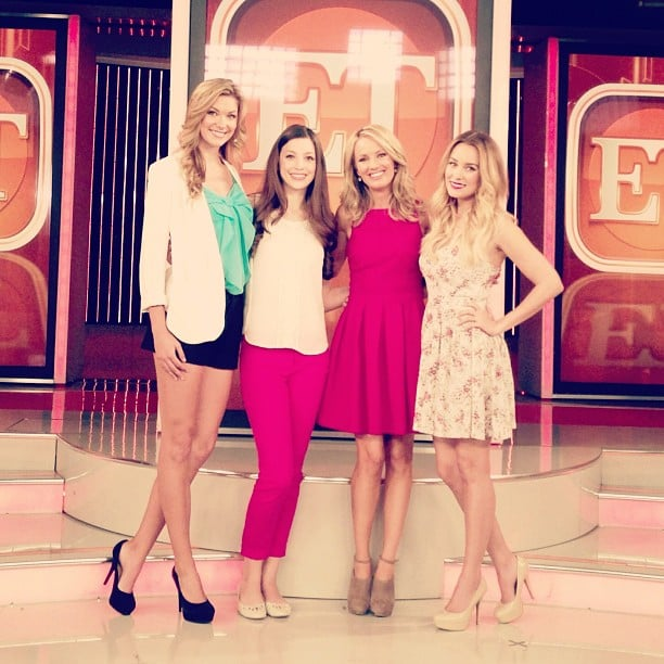 Lauren Conrad gave a sneak peek of her Paper Crown Spring collection on ET. Source: Instagram user laurenconrad