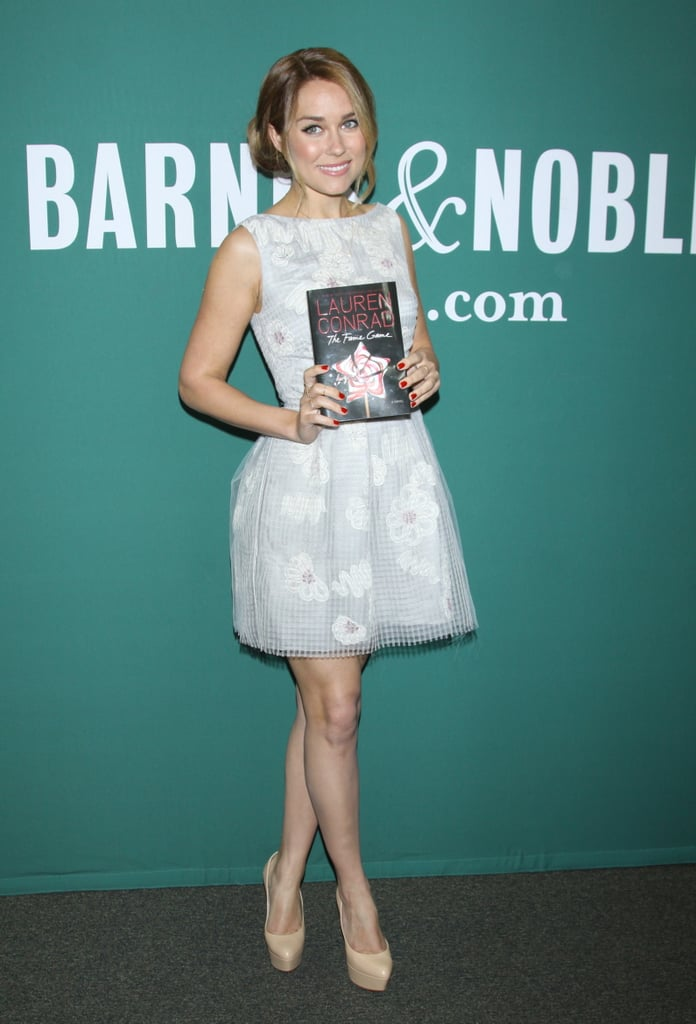 Lauren Conrad promoted The Fame Game in NYC.