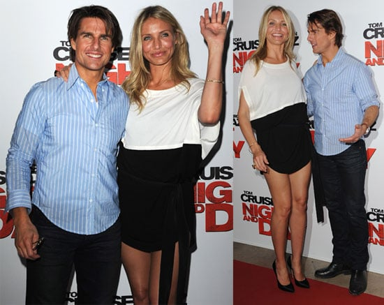 Tom Cruise and Cameron Diaz Premiering Knight and Day in France 2010-07-25 16:30:00