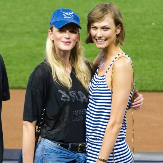 Karlie Kloss Style at New York Yankees Game 2013