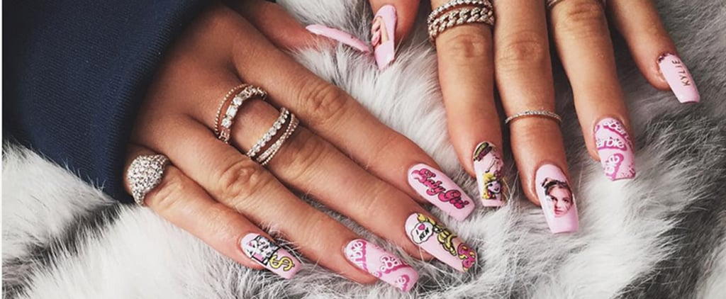Whose Nails Are These — Khloé Kardashian's or Kylie Jenner's?
