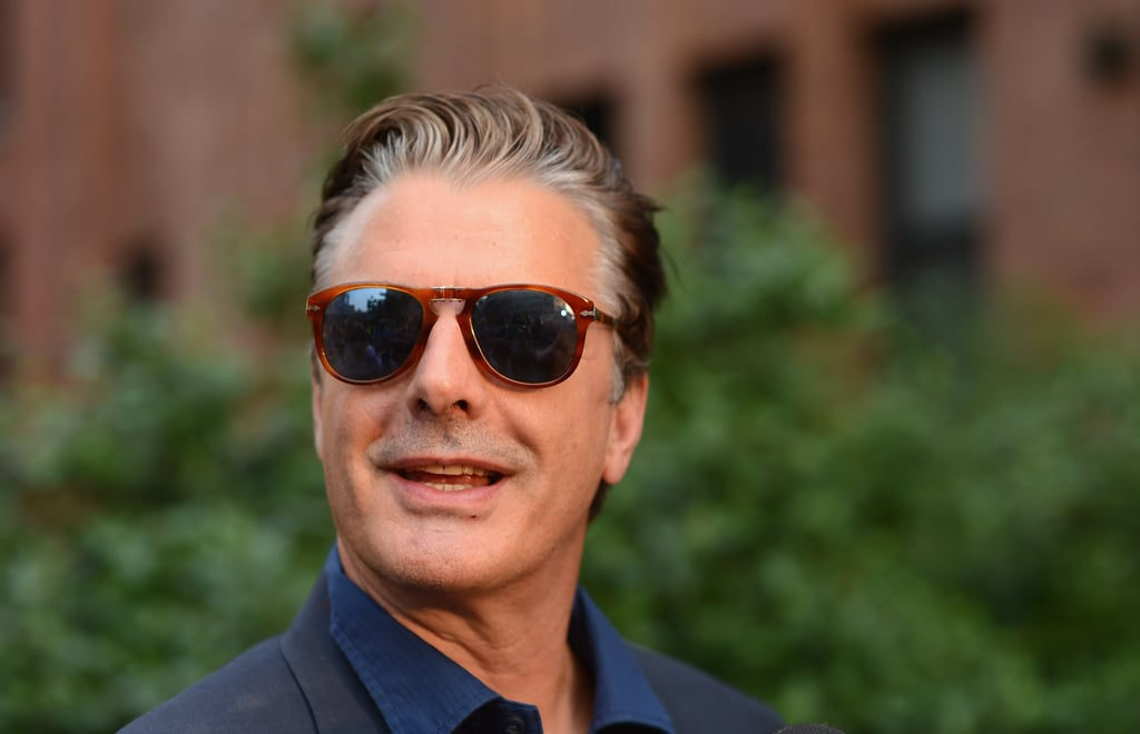 Chris Noth sported some fashionable shades for Coach's Summer Party on the High Line in NYC.