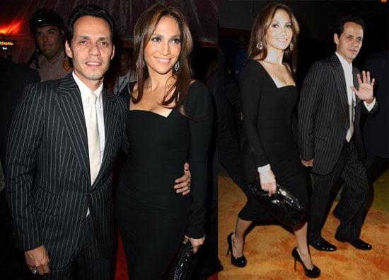 Photos of Jennifer Lopez, Marc Anthony, Emilio Estefan, Gloria Estefan at Dolphins Game