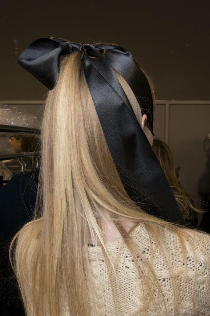 The Hair at Alexis Mabille, Paris