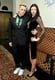 Jeremy Scott and Liberty Ross at W magazine's Golden Globes party.