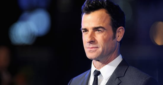 Justin Theroux Accused of Wearing Eyeliner