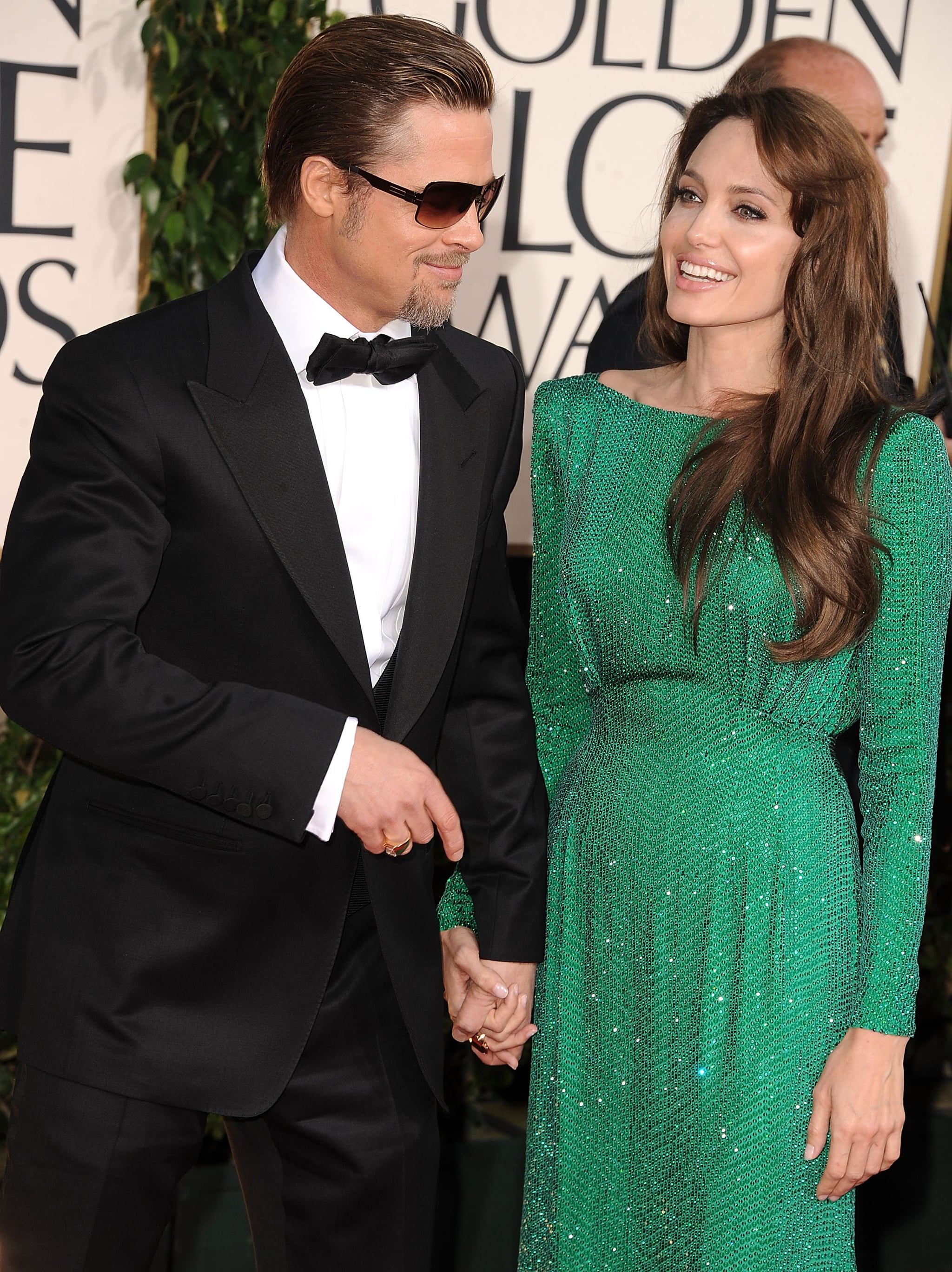Fans went wild when Brad Pitt and Angelina Jolie stepped onto the red carpet at the January 2011 Golden Globes.