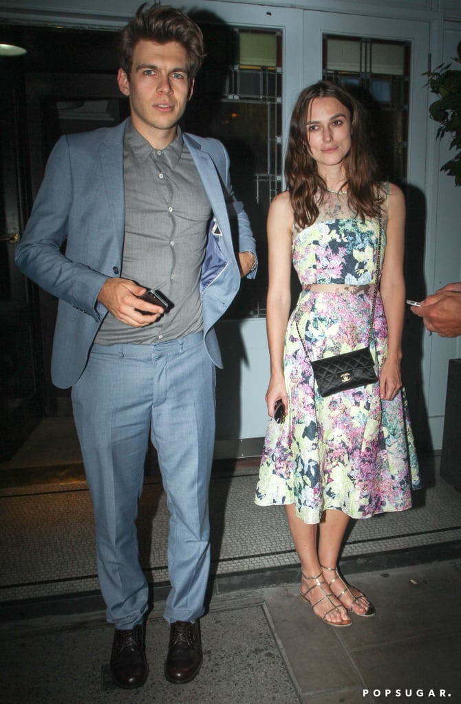 Keira Knightley and her husband James Righton stepped out for a dinner date on Saturday in London.