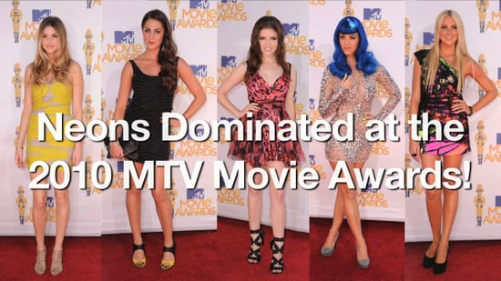 Trends at 2010 MTV Movie Awards