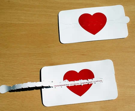 A couples&#039; therapist&#039;s business card.<br />
