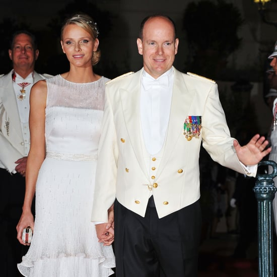 Prince Albert and Charlene Wittstock Wedding Dinner Pictures 2011-07-02 19:37:13
