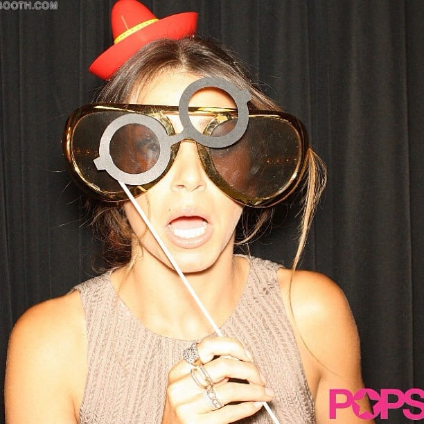 Nikki Reed let her silly side show through in our exclusive backstage photo booth at the Do Something Awards.