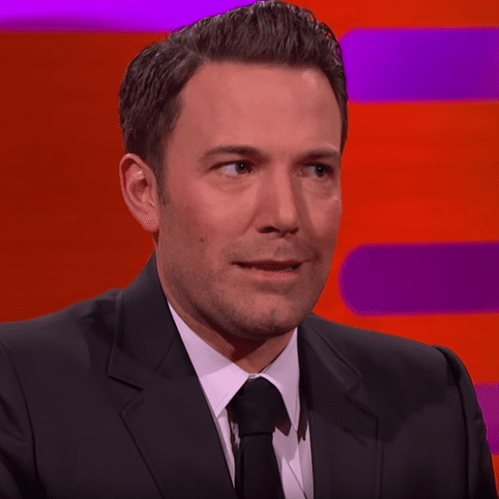 Ben Affleck Talking About Son's Superhero Birthday Party