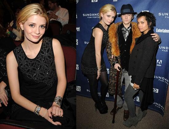 Mischa, Zoe and New Reese Assassinate at Sundance