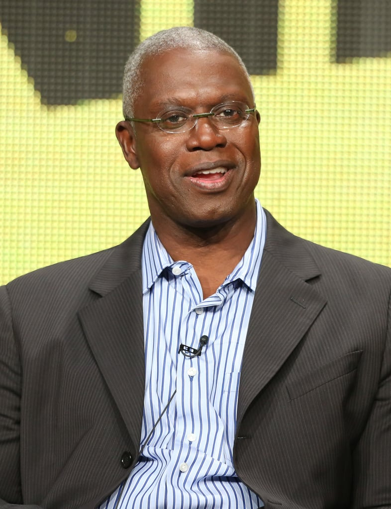Andre Braugher took the stage at the TCA Press Tour to talk about Brooklyn Nine-Nine.