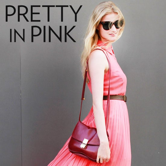 New York Fashion Week Street Style Trend: Pink