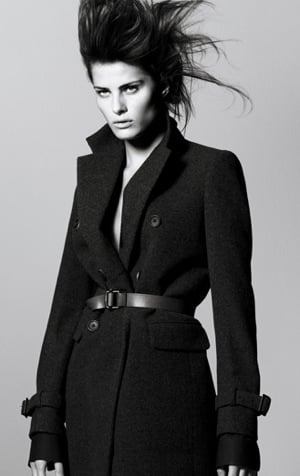 Photo of Isabeli Fontana for Jil Sander and Uniqlo +J 2009 Fall Ad Campaign