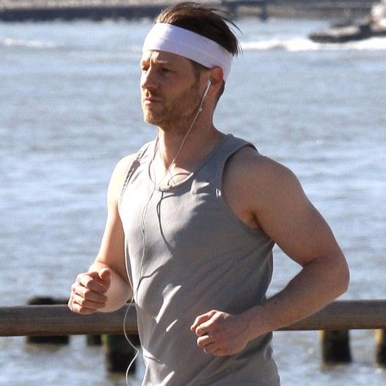 Ben McKenzie Jogging in NYC April 2016 Pictures