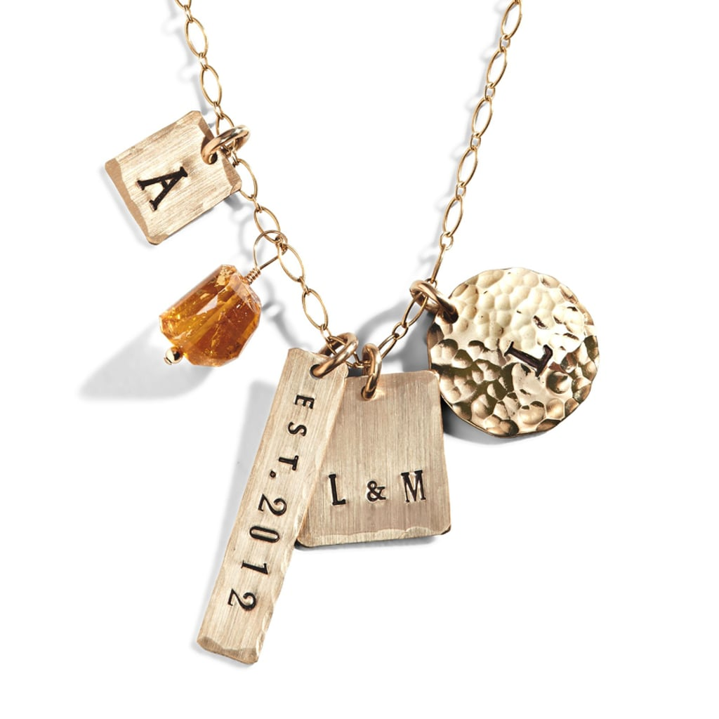 Three Sisters' Eclectic Personalized Necklaces