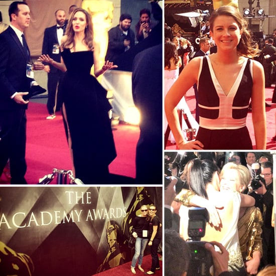 Behind the Scenes Oscar Pictures on Instagram