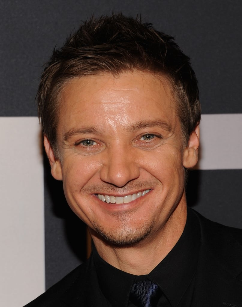 Jeremy Renner attended the world premiere of The Bourne Legacy in NYC.