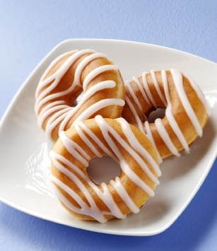 Krispy Kreme Offers a Lightly Glazed Doughnut