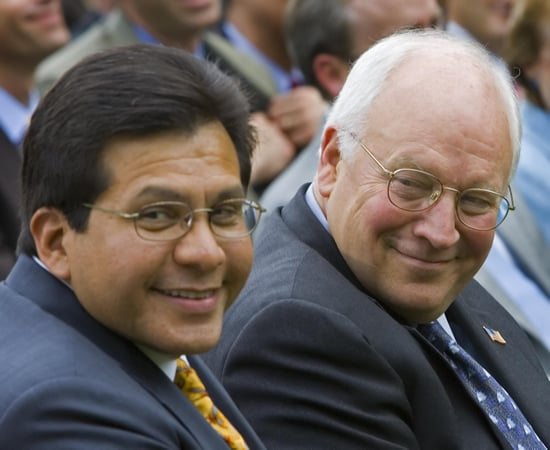 Front Page: Texas Grand Jury Indicts Cheney and Gonzales