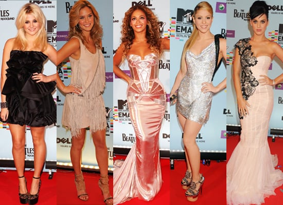 Best Dressed at the 2009 MTV European Music Awards in Berlin