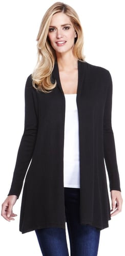 M&S Collection Open Front Swing Cardigan with Wool