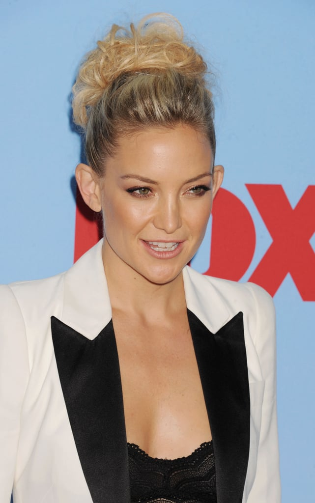 Kate Hudson posed on the red carpet.