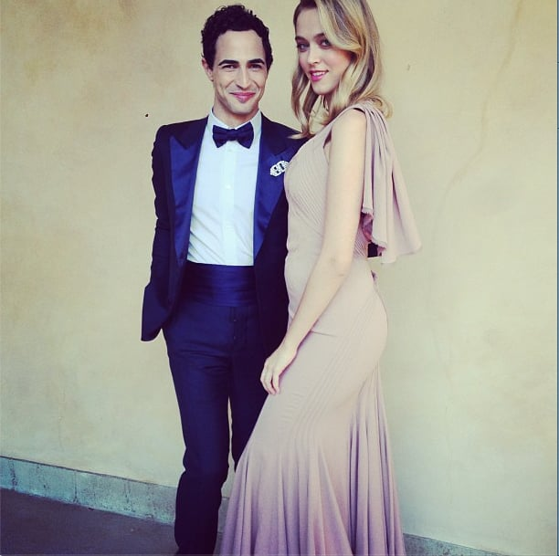 Zac Posen made an Oscars debut. Source: Instagram user zac_posen