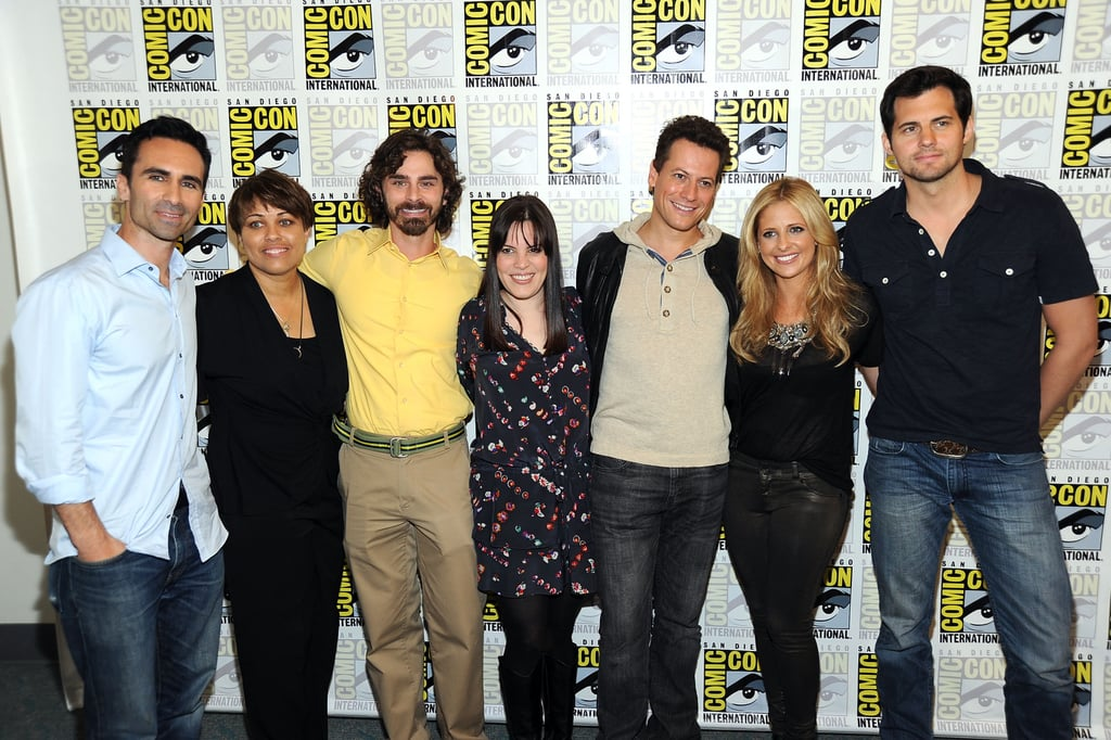 Sarah Michelle Gellar was joined by the Ringer crew at Comic Con in San Diego.