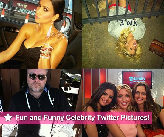 Fun and Funny Celebrity Twitter Pictures From Kim Kardashian, Jessica Simpson and More