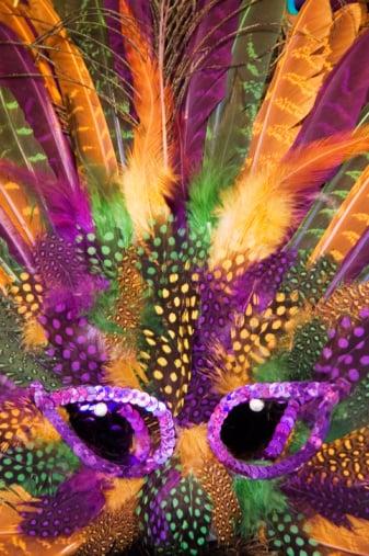 Get Flashy With Your Mardi Gras Decor