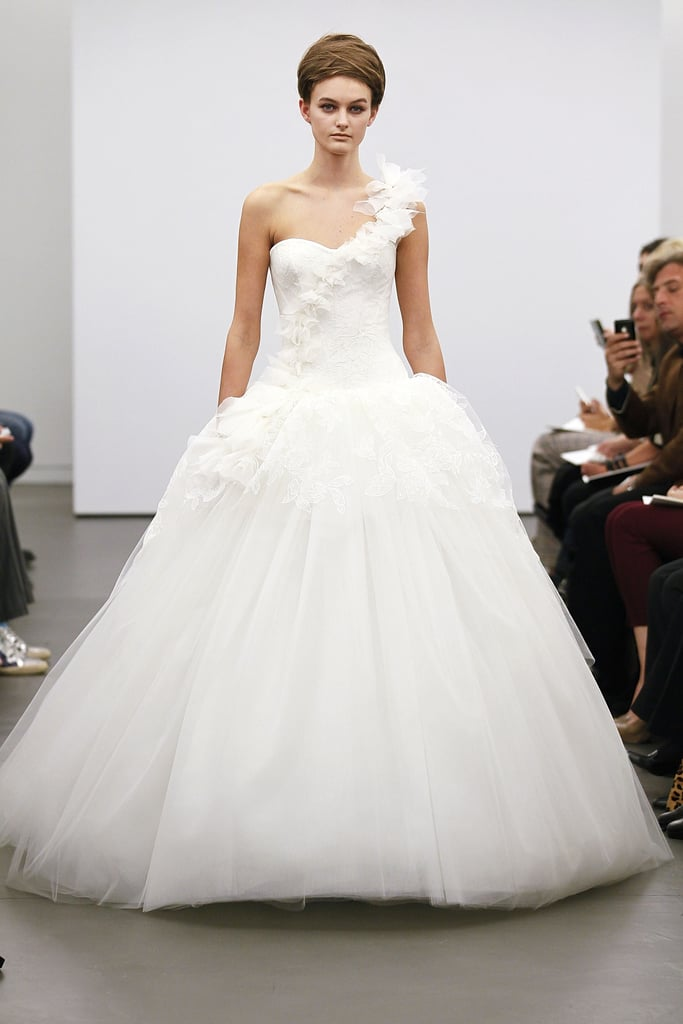 Beautiful wedding dresses 2013 bridal fashion week for Vera wang princess ball gown wedding dress