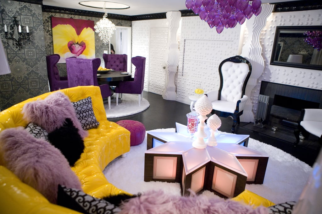 Now the party never ends in this stylish, one of a kind David Bromstad creation.