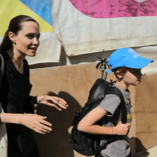 Angelina Jolie Shiloh Humanitarian Trip Video