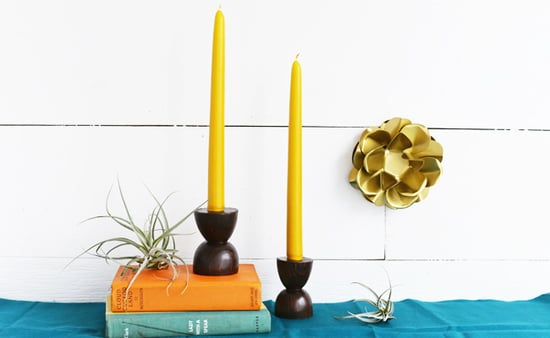Set The Table With These DIY Candle Holders