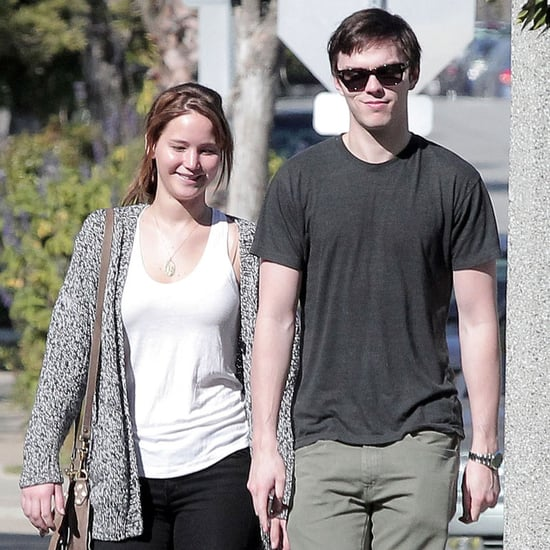 Jennifer Lawrence and Nicholas Hoult Valentine's Day Pictures