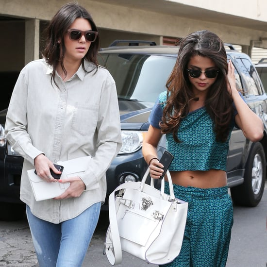 Selena Gomez and Kendall Jenner Get Lunch | Pictures